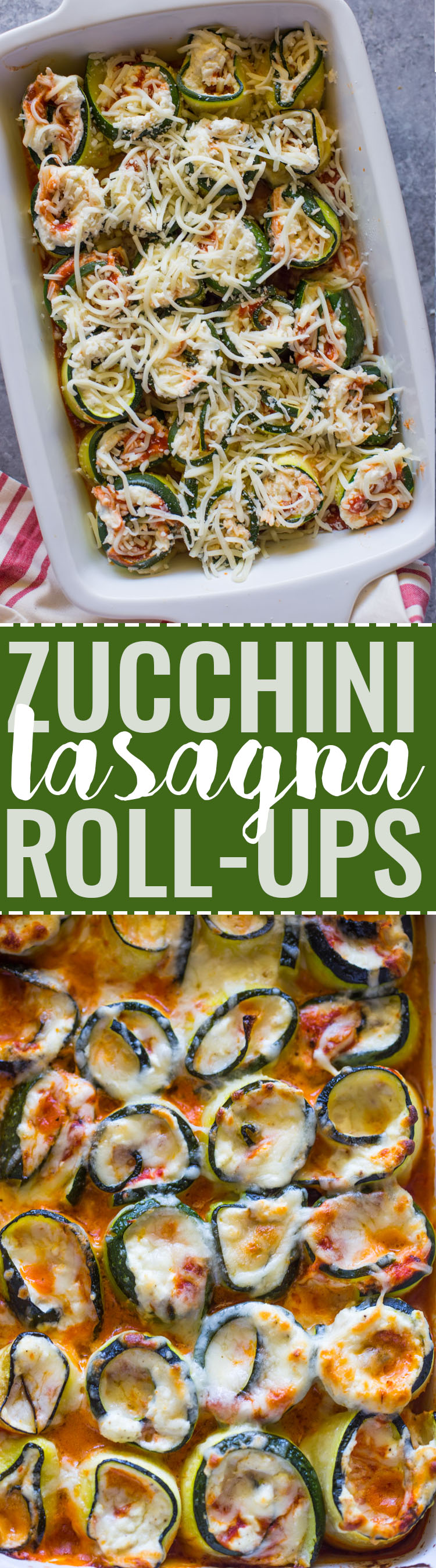 Low-Carb Zucchini Lasagna Roll-Ups