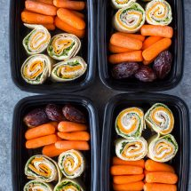 Turkey and Cheese Pinwheels (Meal-Prep Idea) + Giveaway!