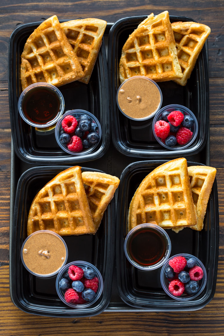 Meal-Prep Protein Waffles