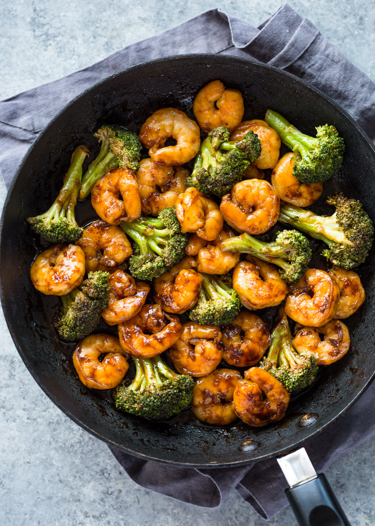 Quick 10 minute shrimp teriyaki stir fry quick 10 minute shrimp teriyaki stir fry forumfinder Image collections