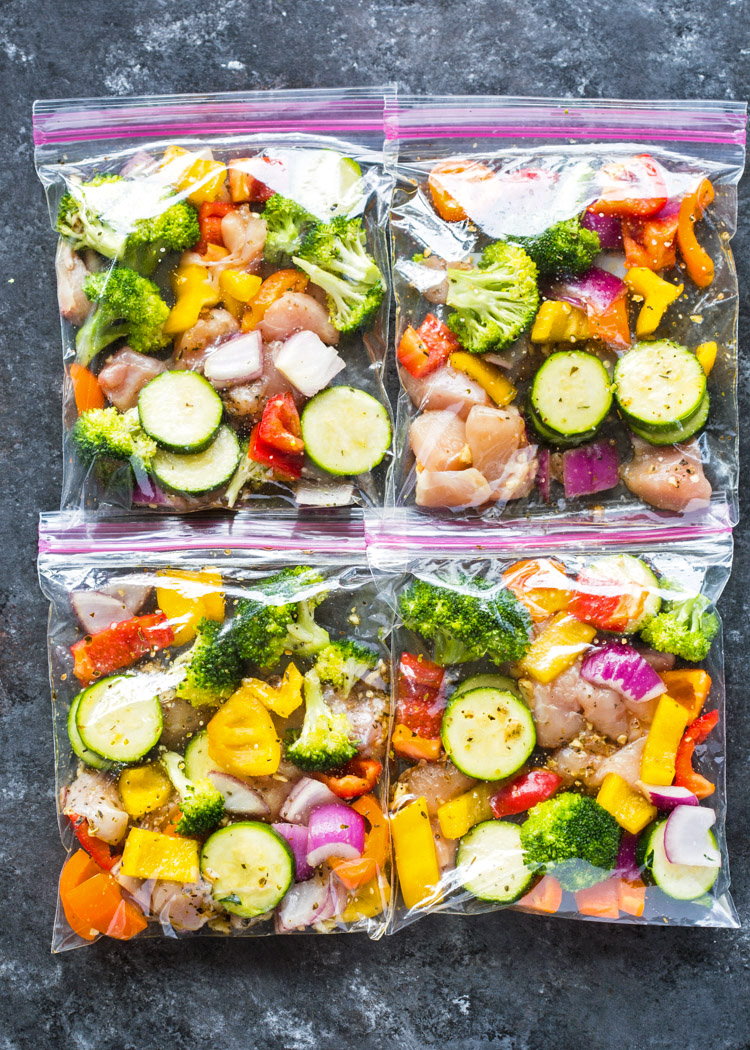 Chicken And Veggie Freezer Packs Gimme Delicious