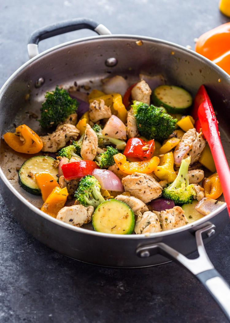 Quick Healthy 15 Minute Stir Fry Chicken And Veggies