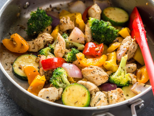 Quick Healthy 15 Minute Stir Fry Chicken And Veggies Gimme Delicious