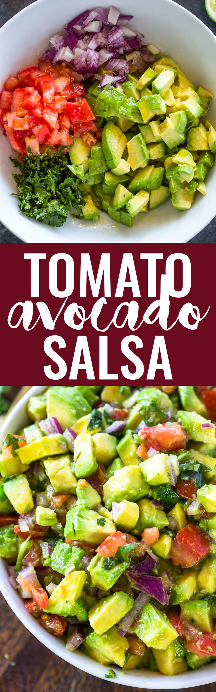 The Best Avocado & Tomato Salsa