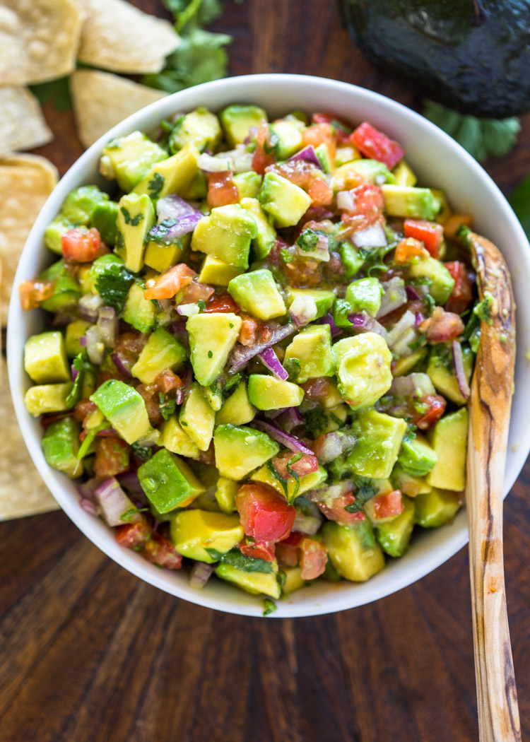 The Best Avocado Amp Tomato Salsa Gimme Delicious