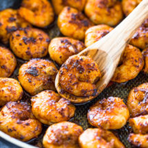 The Best 10 Minute Cajun Blackened Shrimp