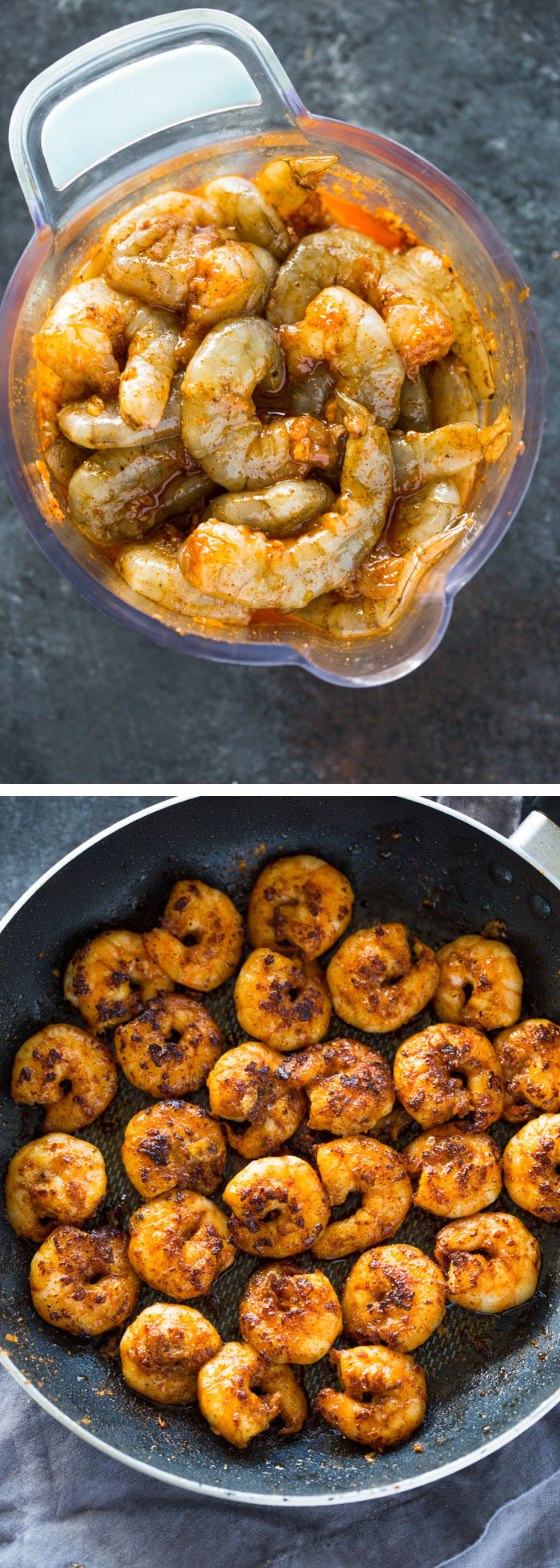The Best 10 Minute Cajun Blackened Shrimp