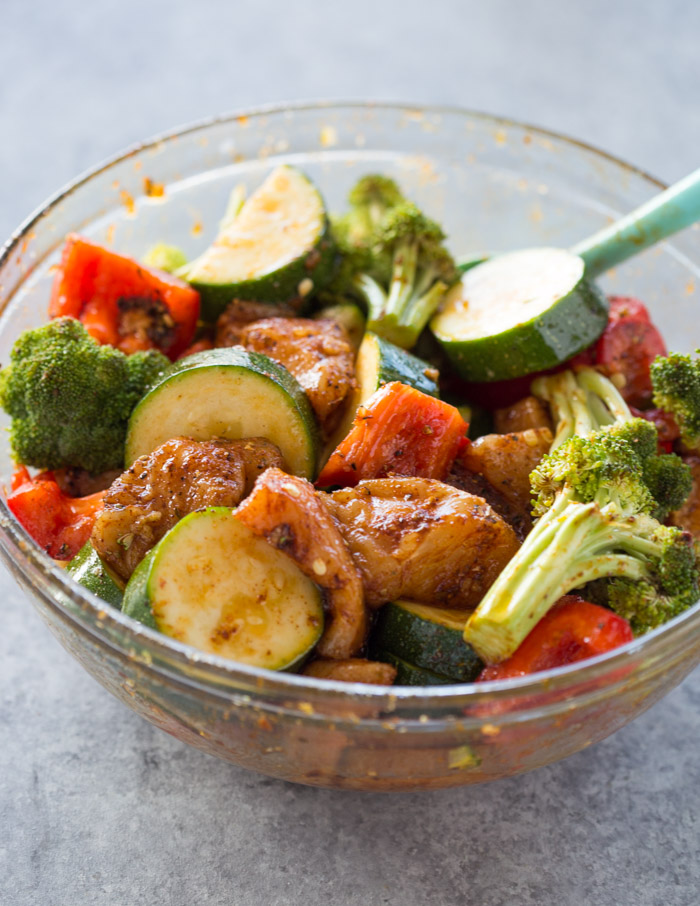 Foil Pack Cajun Chicken and Veggies