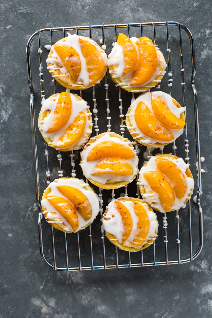 Peaches and Cream Pastries