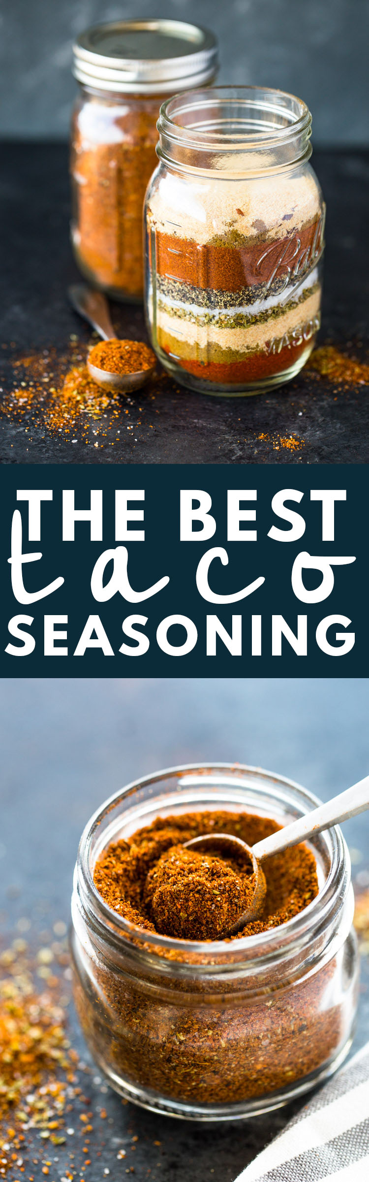The BEST DIY Homemade Taco Seasoning