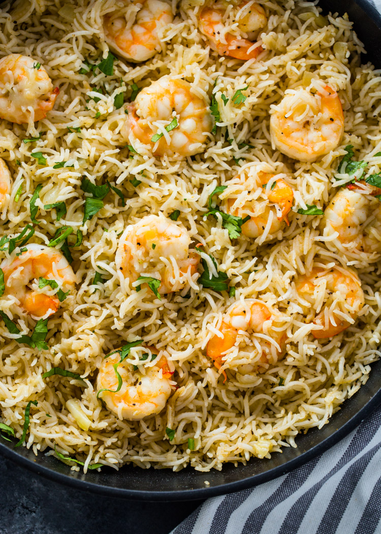 15 Minute Shrimp and Rice