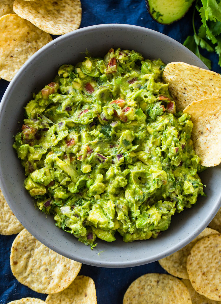 The Best Chunky Guacamole Gimme Delicious