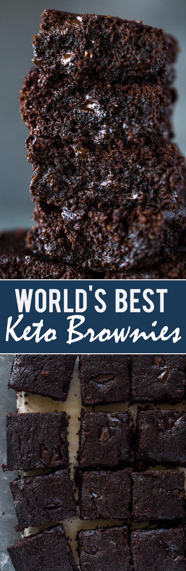 World\u0027s Best Keto Brownies