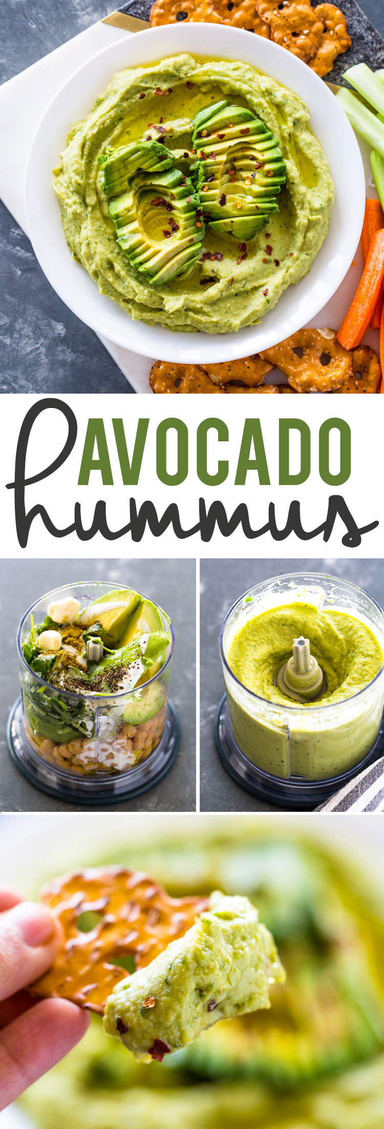 Healthy Avocado Hummus