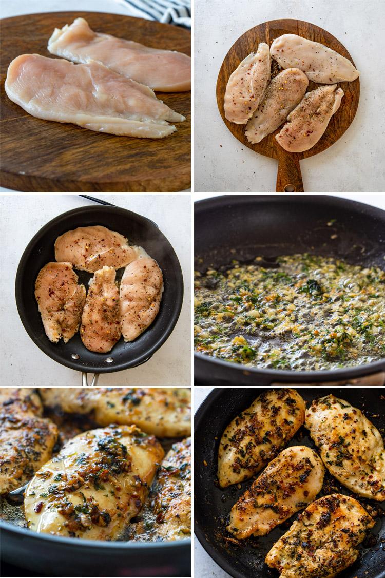 15 Minute Garlic Butter Chicken (Keto)