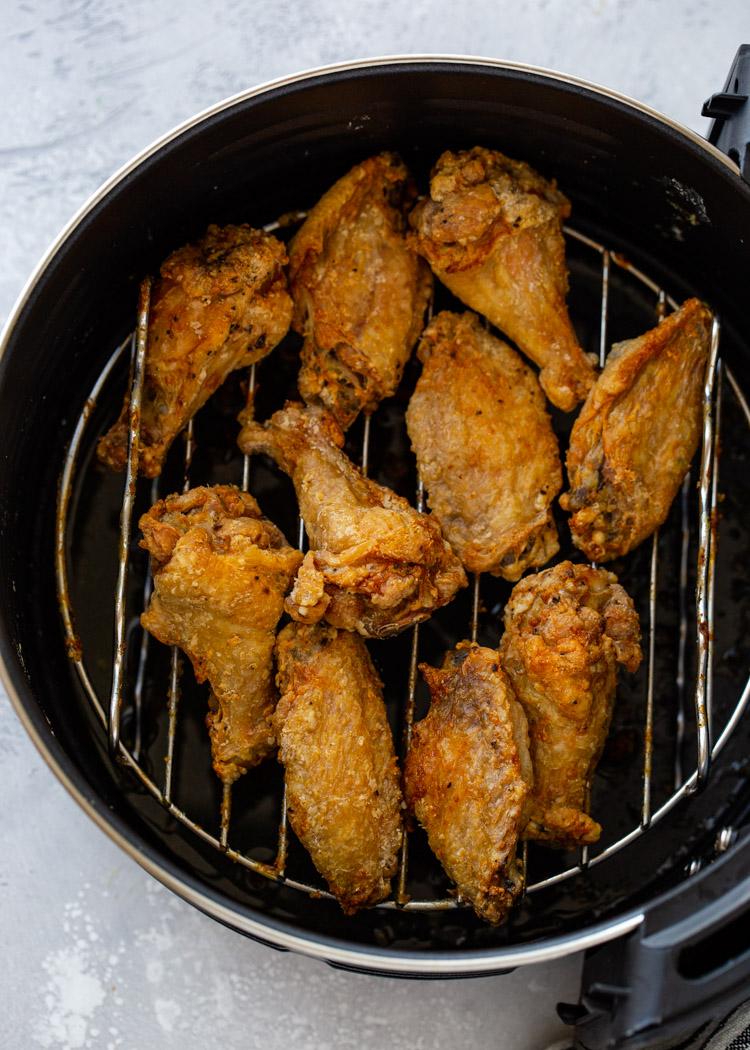 Crispy Air Fryer Chicken Wings (3 Ways!)