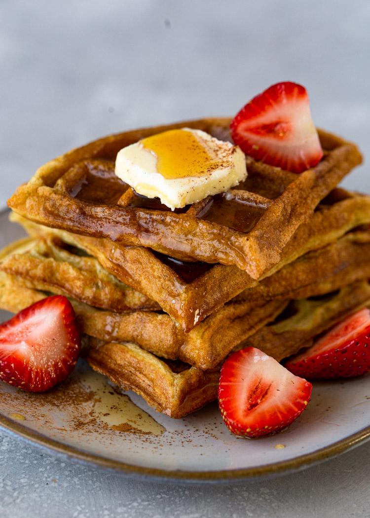 The BEST Keto Waffles