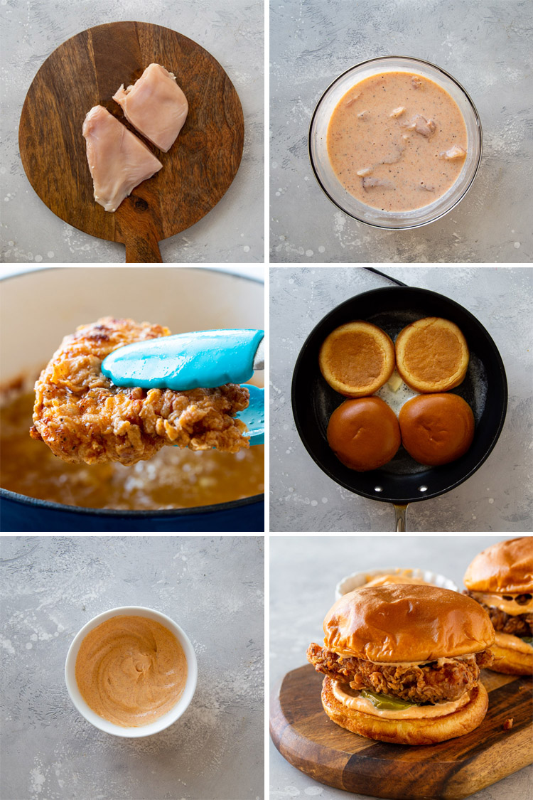 DIY Popeyes Chicken Sandwich