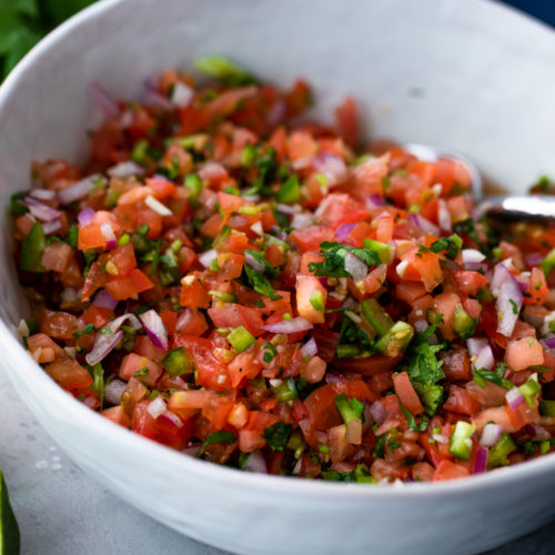 Pico de Gallo recipe for cinco de mayo