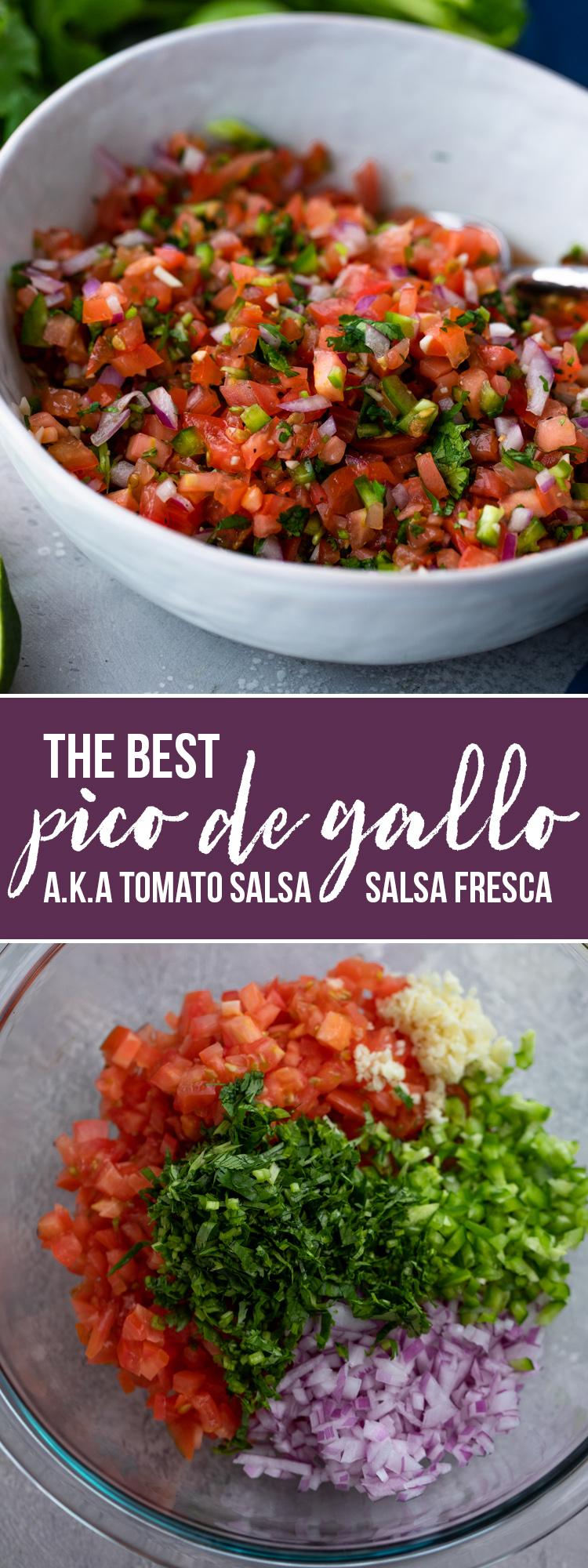 Pico De Gallo (Fresh Tomato Salsa)