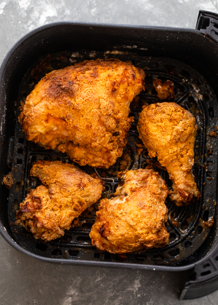 The Best Air Fryer Fried Chicken