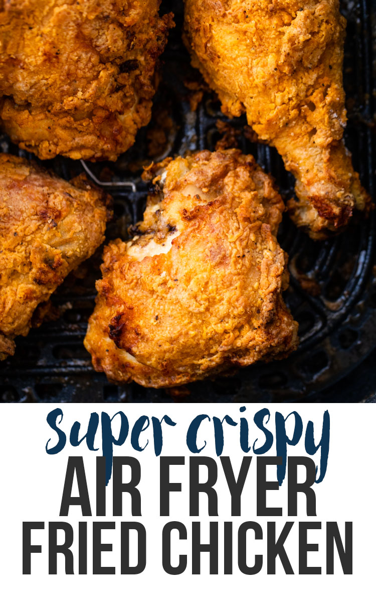 Spicy buttermilk Air Fryer Fried Chicken