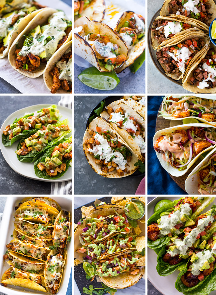 Top 10 Must Try Taco Recipes 30 Minutes Or Less Gimme Delicious