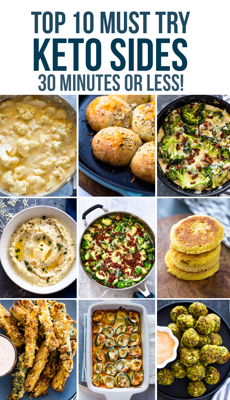 Top 10 Keto Side Dishes To Try
