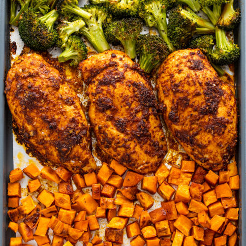 sweet potato recipes for diet with chicken