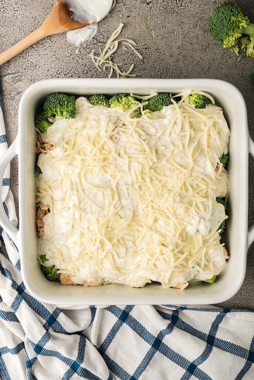 Creamy Tuna Broccoli Casserole Low Carb Keto Gimme Delicious