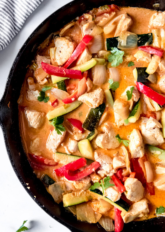 Thai Chicken Coconut Curry Gimme Delicious