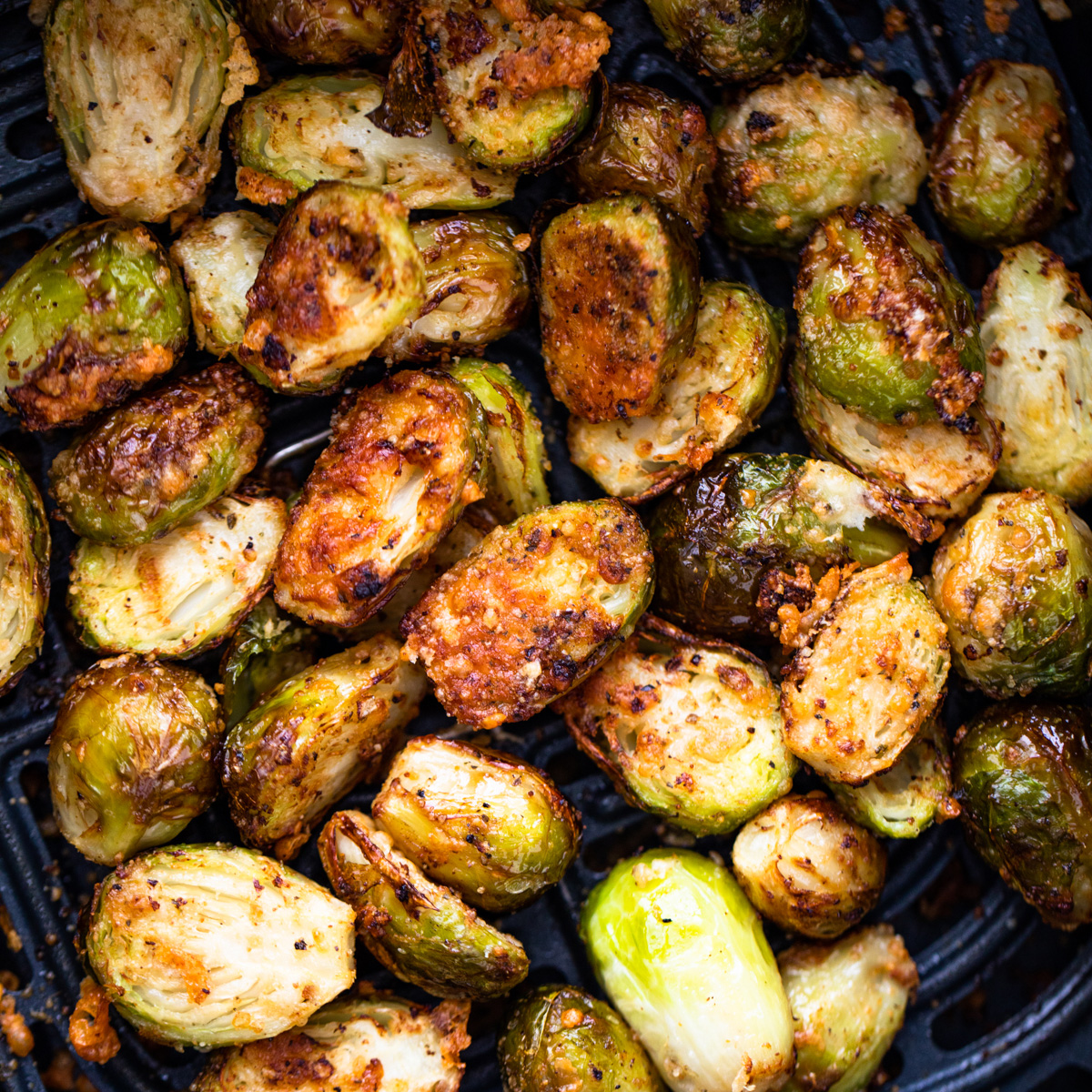 Air Fried Brussel Sprouts Recipe