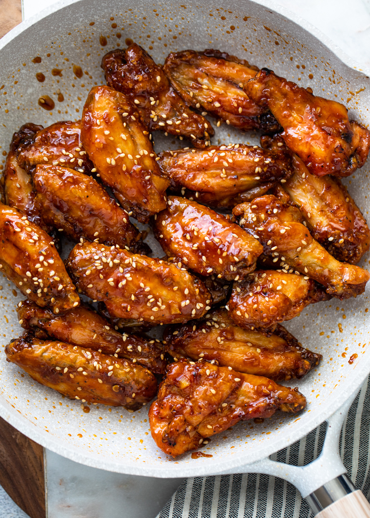 Garlic Soy Chicken Wings | Gimme Delicious